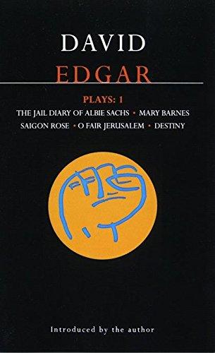 Edgar, Plays 1 : The Jail Diary: David Edgar