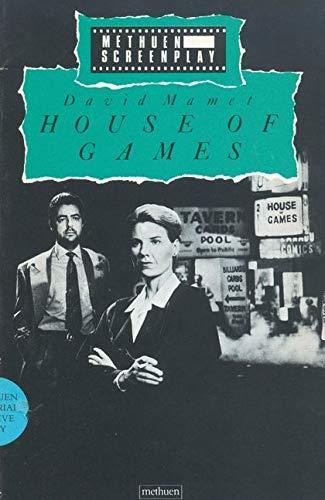9780413187208: House of Games (Methuen Screenplays)