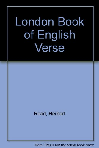 9780413217103: London Book of English Verse