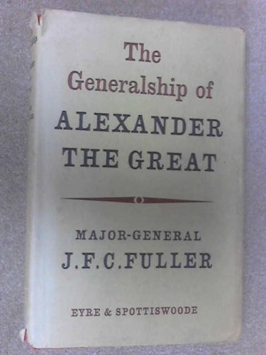 9780413235404: Generalship of Alexander the Great