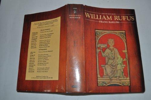 9780413281708: William Rufus ([English monarchs])