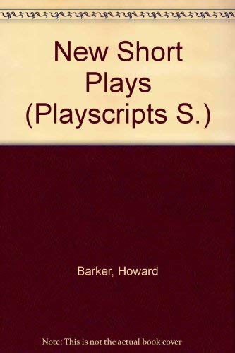 New Short Plays (Playscripts S.):3 -cheek/number three/there's no point in arguing the toss/...