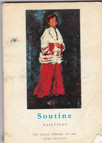 9780413309402: Soutine, Paintings (Little Library of Art)