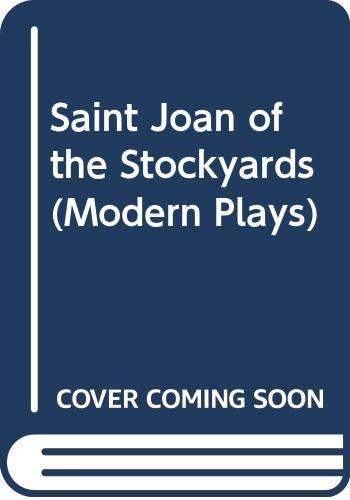 9780413344403: Saint Joan of the Stockyards (Modern Plays)