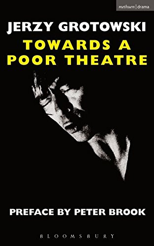 9780413349101: TOWARDS A POOR THEATRE (Performance Books)