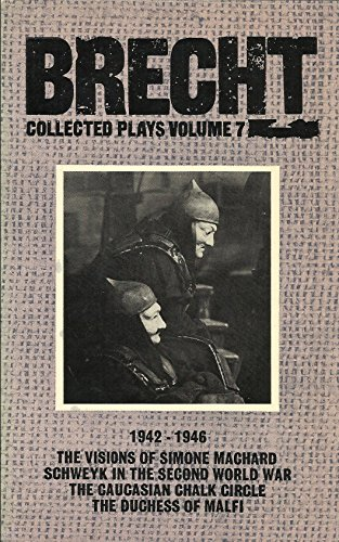Collected Plays: 1942-46 v. 7: Bertolt Brecht