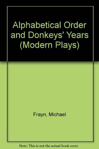 9780413379801: Alphabetical Order (Modern Plays)