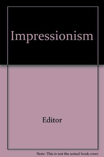 9780413386106: Impressionism