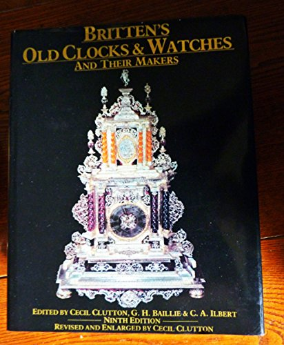 9780413397201: Old Clocks and Watches and Their Makers