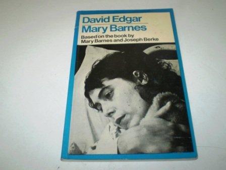 9780413400703: Mary Barnes (Modern Plays)