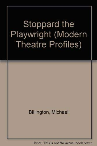 9780413458605: Stoppard the Playwright
