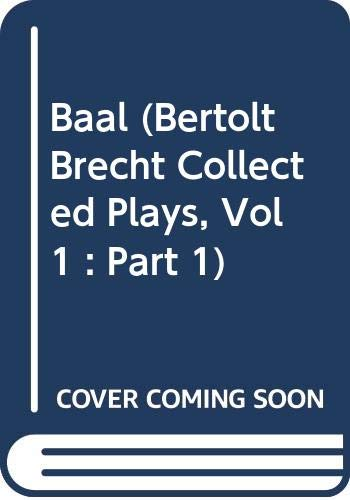 9780413464408: Baal (Modern Plays)