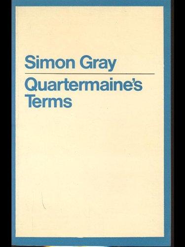 9780413491404: Quartermaine's Terms (Modern Plays)