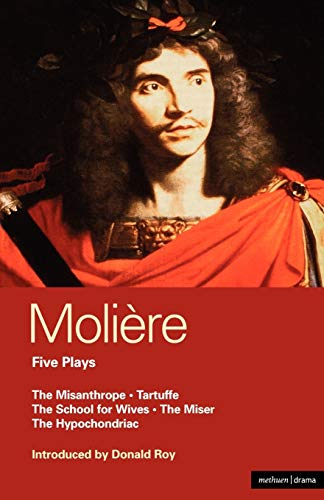 9780413497604: Five Plays : The School for Wives', 'Tartuffe', 'the Misanthrope', 'the Miser', 'the Hypochondriac (World Classics)
