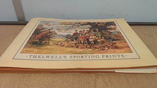 Thelwell's Sporting Prints 9780413511300 This is a collection of sporting prints lampooning the work of expert draughtsmen such as Stubbs, Rowlandson, Fernley and Pollard. Thelwell, the creator of the cartoon character Penelope, has a superb eye for detail and for the relationship between humans and animals.