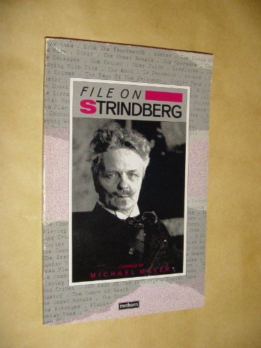9780413550200: File on Strindberg (Writer-Files)