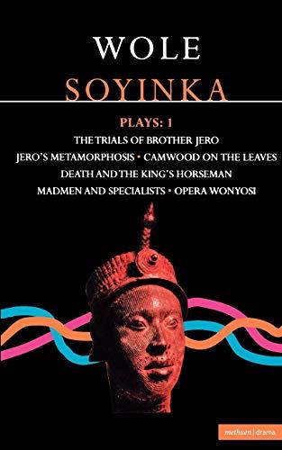 9780413553508: Wole Soyinka: Plays 1: