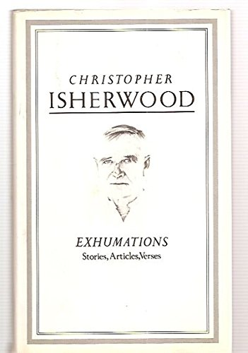9780413569202: Exhumations: Stories, Articles, Verses