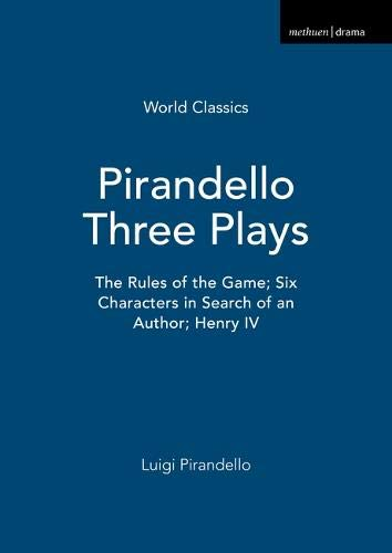 9780413575609: Pirandello Three Plays (World Classics)