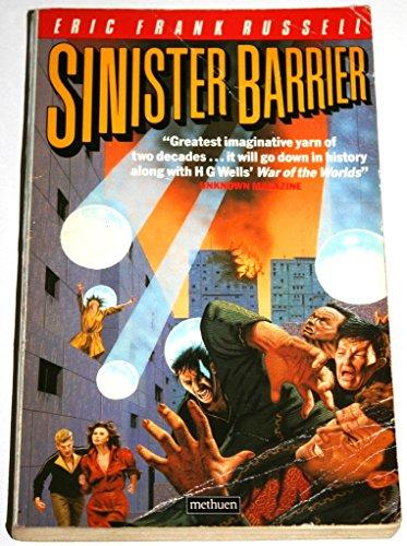 9780413588708: Sinister Barrier