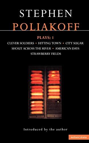 Plays: Vol 1 (Methuen Contemporary Dramatists) -: Poliakoff, Stephen