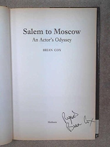 SALEM TO MOSCOW CLT: Cox, Brian