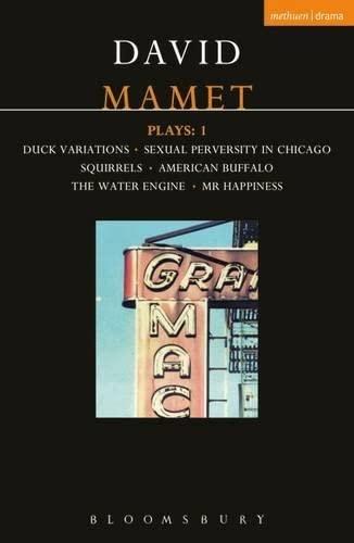 9780413645906: Mamet Plays: