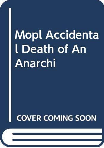 9780413651006: Accidental Death of an Anarchist (Methuen Modern Plays)