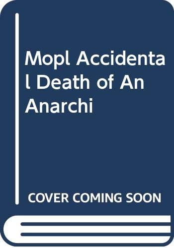9780413651006: Accidental Death of an Anarchist (The National Theatre Version) (METHUAN DRAMA)