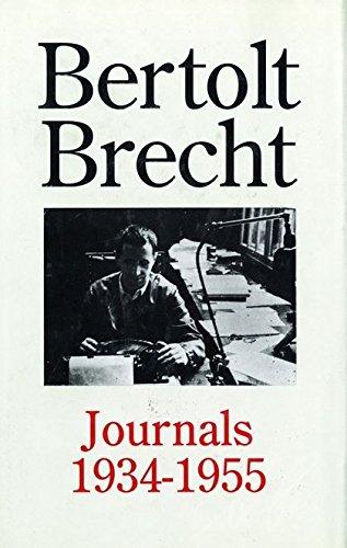 9780413655103: Bertolt Brecht Journals, 1934-55 (Diaries, Letters and Essays)