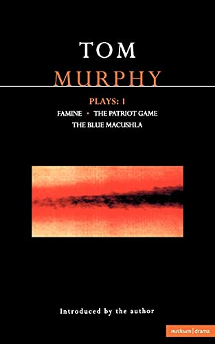 9780413665706: Murphy: Plays One: Vol 1 (Contemporary Dramatists)