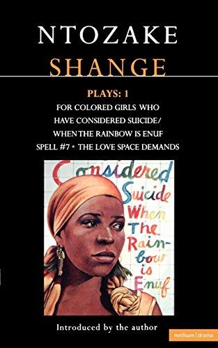 9780413673701: Ntozake Shange: Plays 1 (Contemporary Dramatists) (Vol 1)