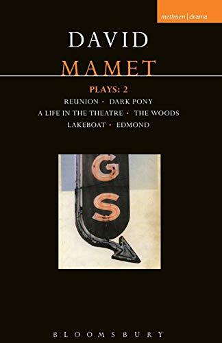 "David Mamet Plays: 2 ""Reunion"", ""Dark Pony"", ""A Life in the Theatre"",..."