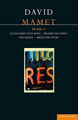 9780413687500: Mamet Plays: