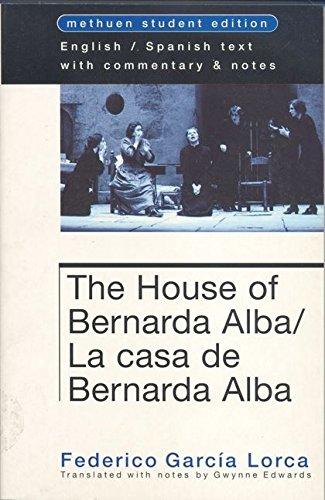 9780413724700: The house of bernarda Alba  la casa de bernarda Alba (Student Editions)