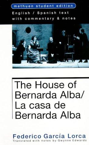 9780413724700: House of Bernarda Alba (Methuen World Classics) (Student Editions)