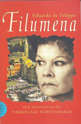 Filumena (Modern Plays): de Filippo, Eduardo; Filippo, Eduardo De