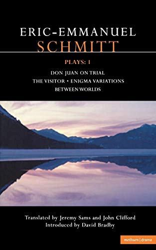 9780413760203: Schmitt Plays: 1: Don Juan on Trial; The Visitor; Enigma Variations; Between Worlds (Contemporary Dramatists) (v. 1)