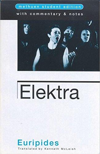 9780413770400: Elektra (Student Editions)