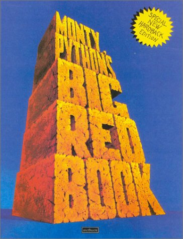 9780413774200: Monty Python's Big Red Book