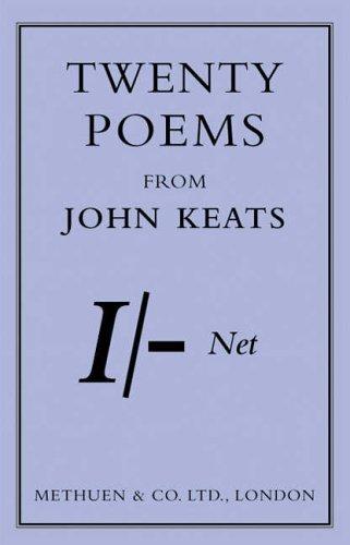 Selected Poems of John Keats (Methuen Shilling): Keats, John