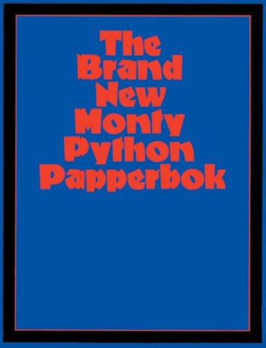 9780413776426: Brand New Monty Python Papperbok (Methuen Humour)