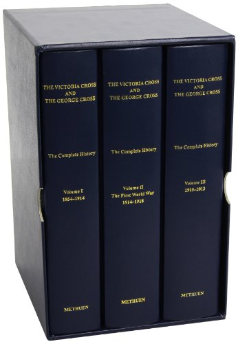 9780413777522: The Victoria Cross and the George Cross: Boxed Set of 3 Volumes