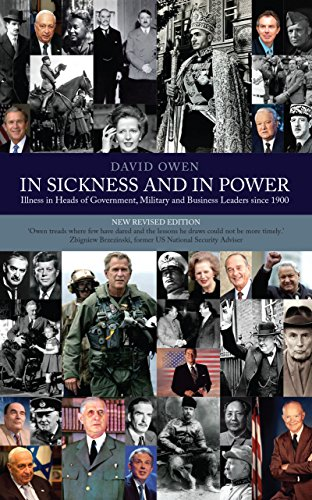 9780413777690: In Sickness and In Power: Illness in Heads of Government During the Last 100 years