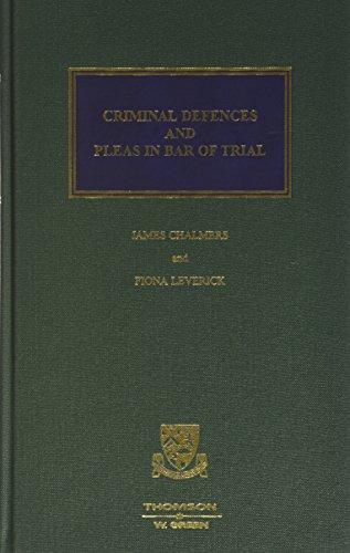 Criminal Defences: Fiona Leverick, James
