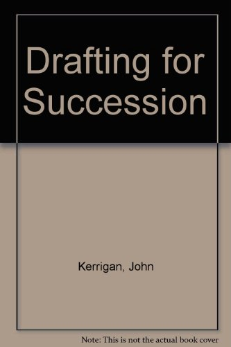9780414015463: Drafting for Succession
