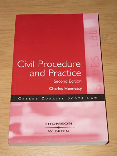 9780414016118: Civil Procedure and Practice
