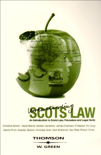 9780414016910: Understanding Scots Law: An Introduction to Scots Law, Procedure and Legal Skills