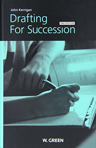 9780414017719: Drafting for Succession