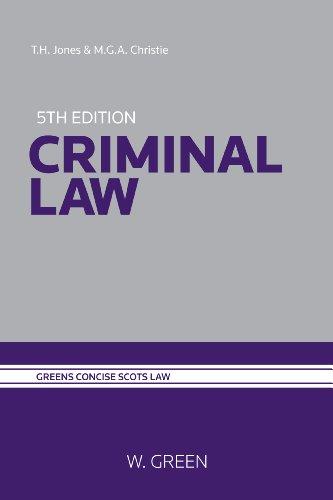 9780414018341: Criminal Law
